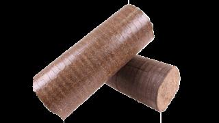 Dřevěné brikety č.3